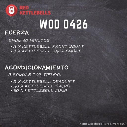 pesas rusas rutinas kettlebells workout crossfit wod 0426
