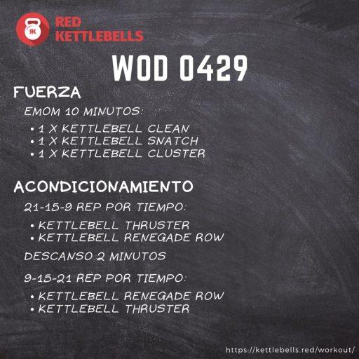 pesas rusas rutinas kettlebells workout crossfit wod 0429