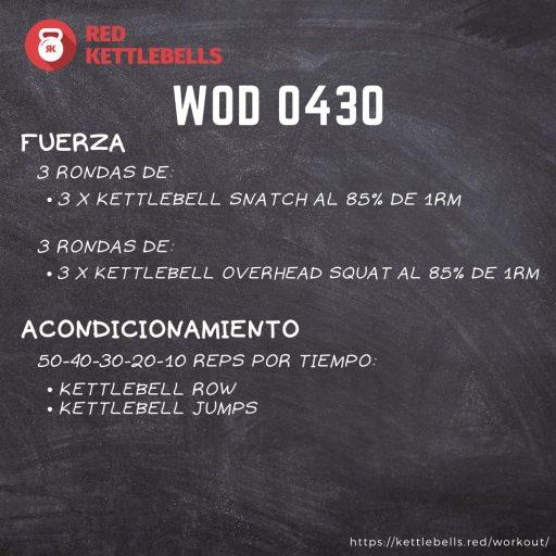 pesas rusas rutinas kettlebells workout crossfit wod 0430