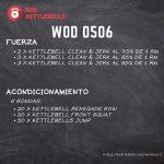 pesas rusas rutinas kettlebells workout crossfit wod 0506