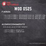 pesas rusas rutinas kettlebells workout crossfit wod 0525
