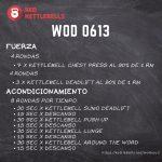 pesas rusas rutinas kettlebells workout crossfit wod 0613