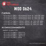 pesas rusas rutinas kettlebells workout crossfit wod 0624