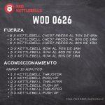 pesas rusas rutinas kettlebells workout crossfit wod 0626