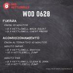 pesas rusas rutinas kettlebells workout crossfit wod 0628