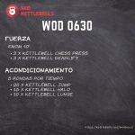 pesas rusas rutinas kettlebells workout crossfit wod 0630