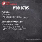 pesas rusas rutinas kettlebells workout crossfit wod 0705