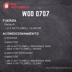 pesas rusas rutinas kettlebells workout crossfit wod 0707
