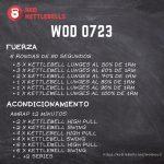 pesas rusas rutinas kettlebells workout crossfit wod 0723