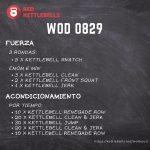 pesas rusas rutinas kettlebells workout crossfit wod 0829