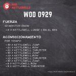 pesas rusas rutinas kettlebells workout crossfit wod 0929
