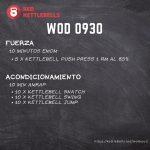 pesas rusas rutinas kettlebells workout crossfit wod 0930