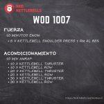 pesas rusas rutinas kettlebells workout crossfit wod 1007