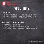 pesas rusas rutinas kettlebells workout crossfit wod 1013