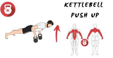 kettlebell pesas rusas movimiento push ups