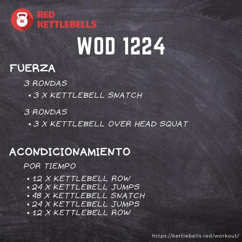 kettlebells workout crossfit wod 1224