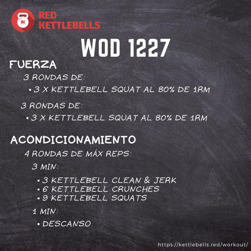 kettlebells workout crossfit wod 1227