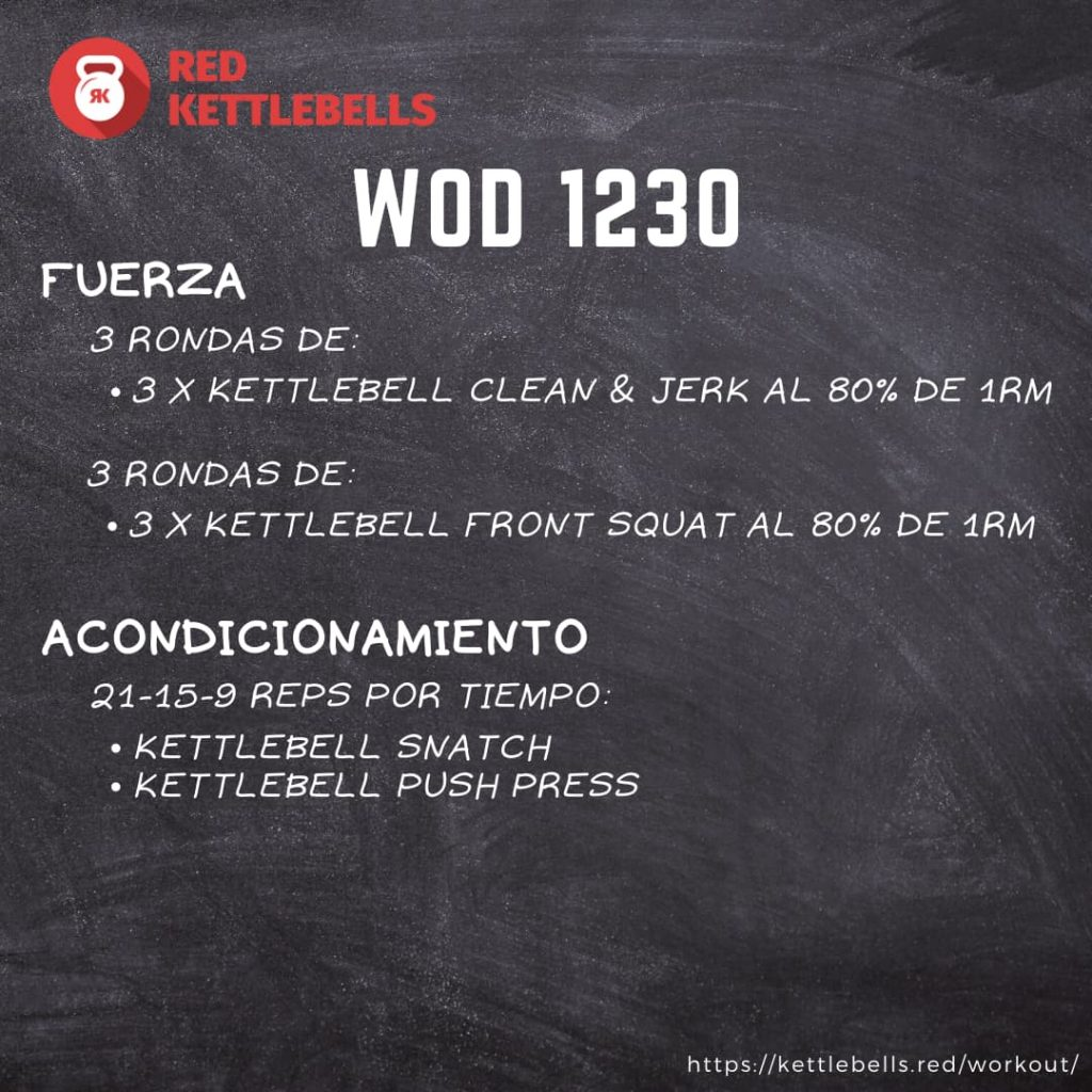 kettlebells workout crossfit wod 1230