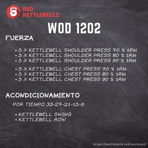 pesas rusas rutinas kettlebells workout crossfit wod 1202