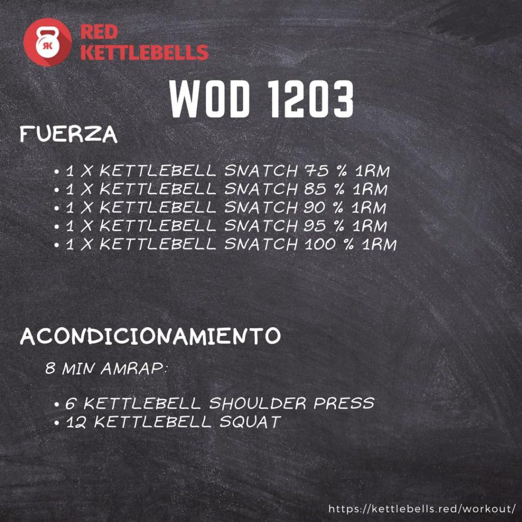 pesas rusas rutinas kettlebells workout crossfit wod 1203