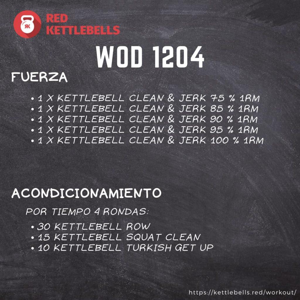 pesas rusas rutinas kettlebells workout crossfit wod 1204