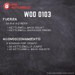 kettlebells workout crossfit wod 0103