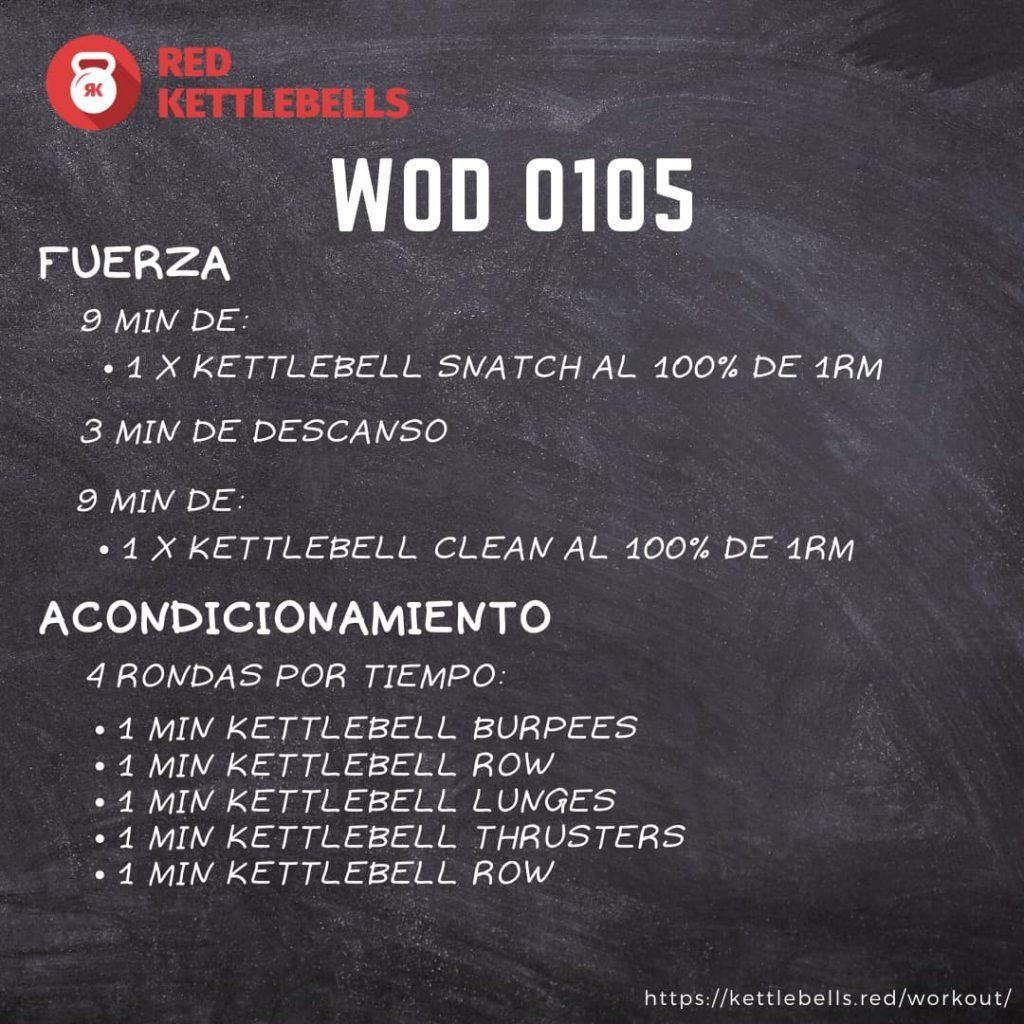 kettlebells workout crossfit wod 0105