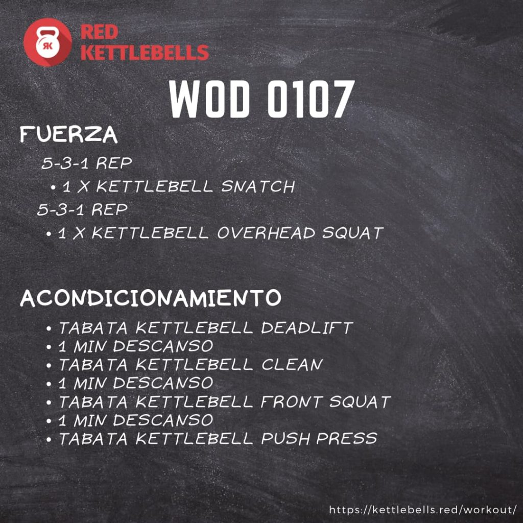 kettlebells workout crossfit wod 0107
