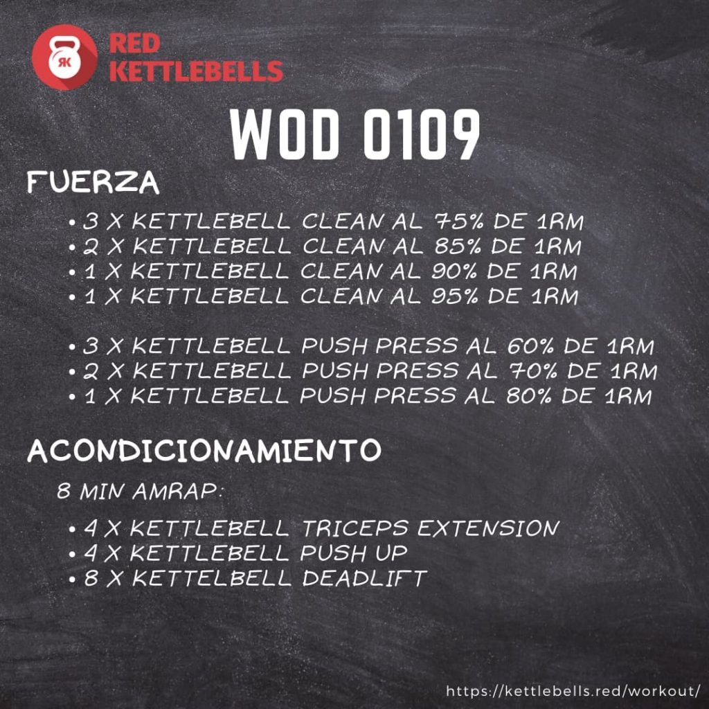 kettlebells workout crossfit wod 0109