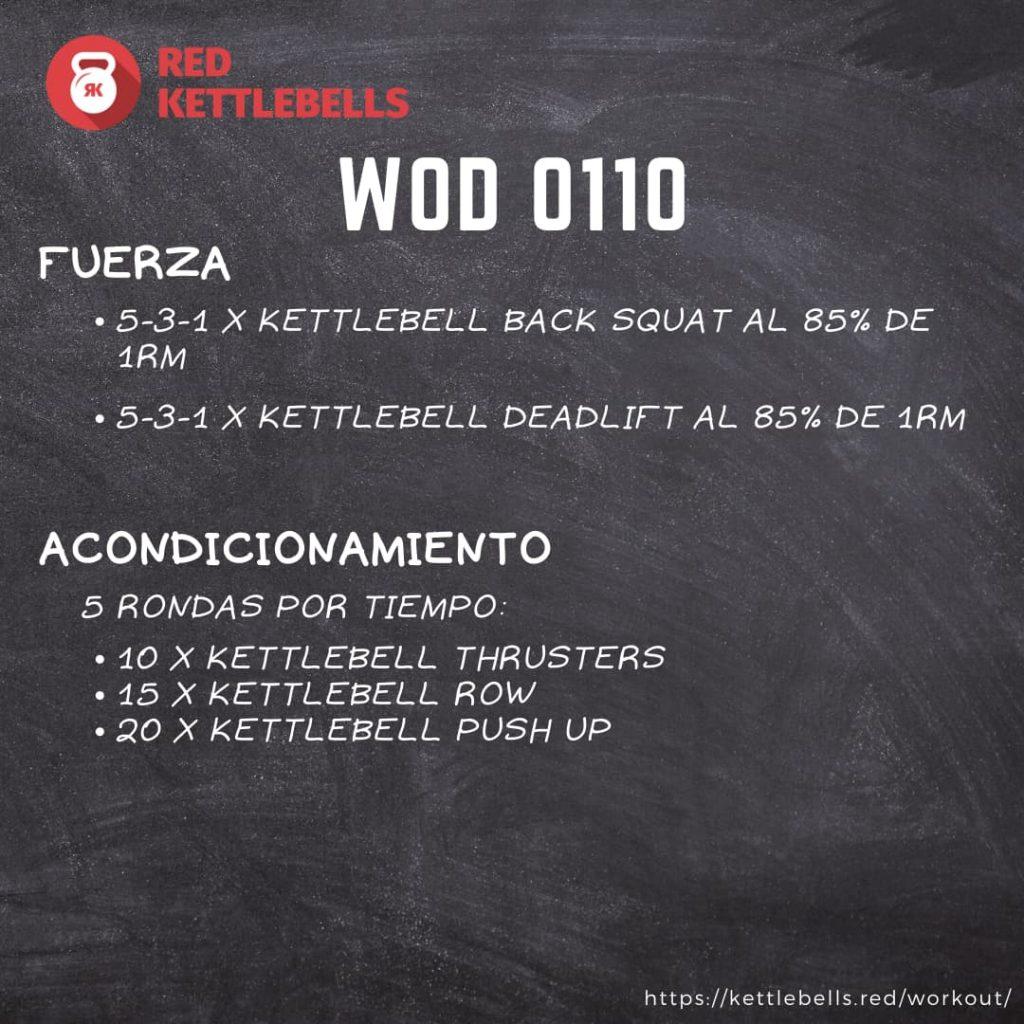 kettlebells workout crossfit wod 0110