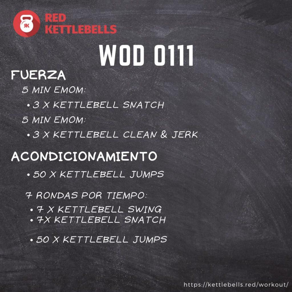 kettlebells workout crossfit wod 0111