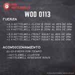kettlebells workout crossfit wod 0113