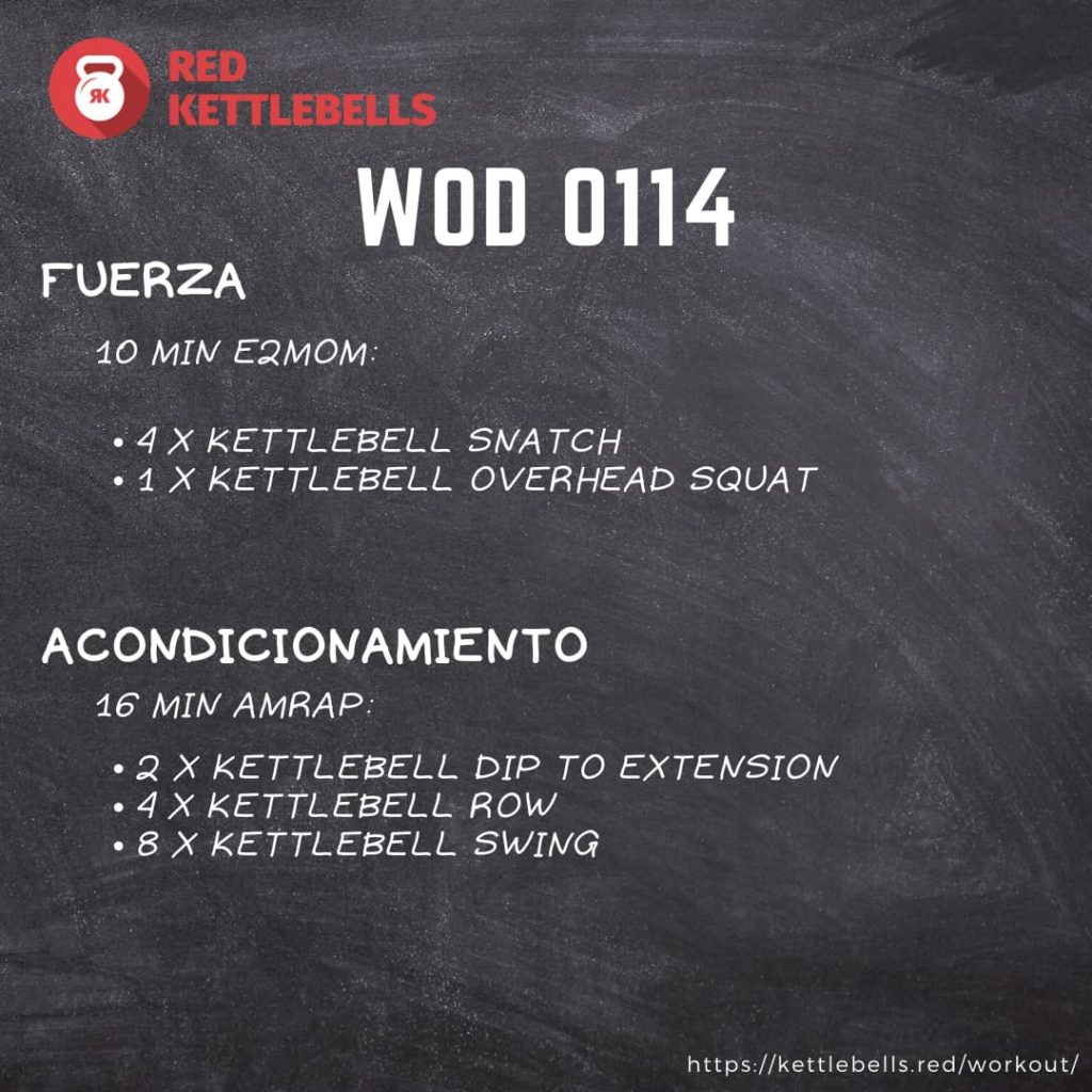 kettlebells workout crossfit wod 0114