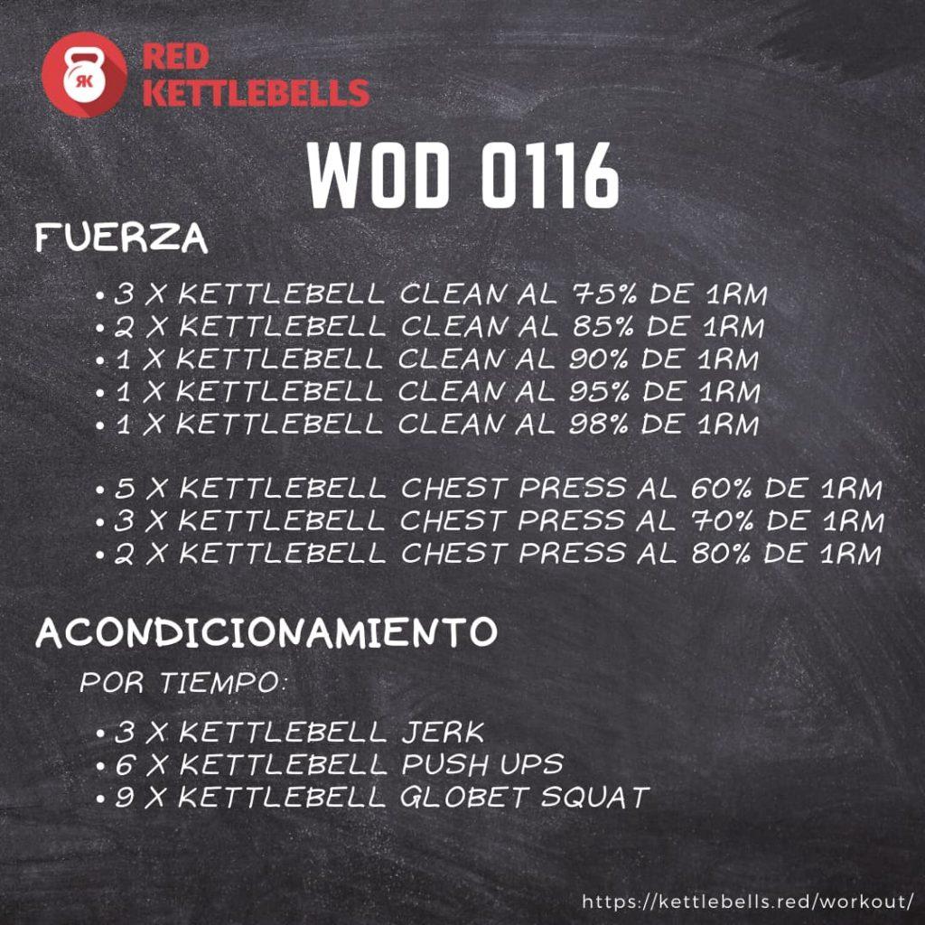 kettlebells workout crossfit wod 0116