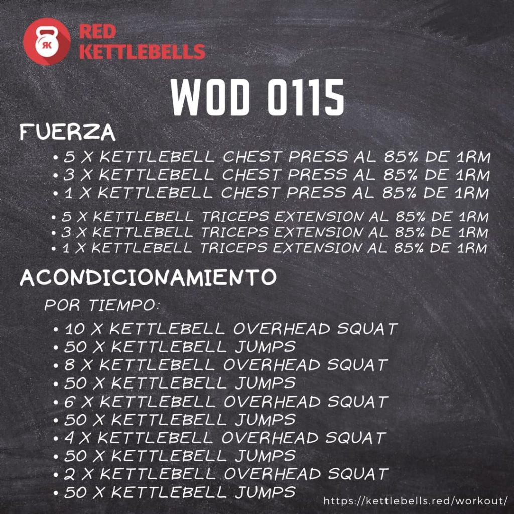 pesa rusa kettlebells workout crossfit wod 0115