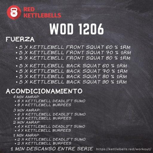 pesas rusas rutinas kettlebells workout crossfit wod 1206