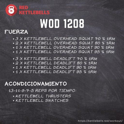 pesas rusas rutinas kettlebells workout crossfit wod 1208