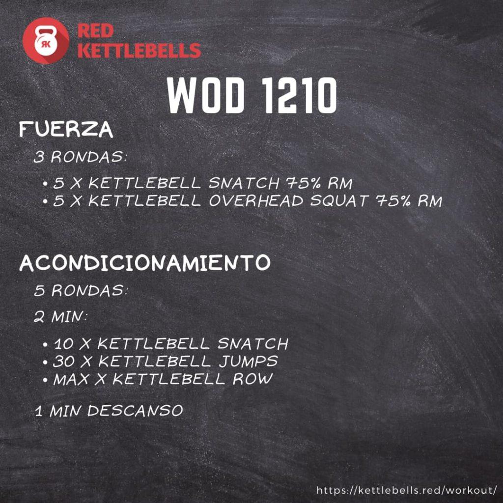 pesas rusas rutinas kettlebells workout crossfit wod 1210