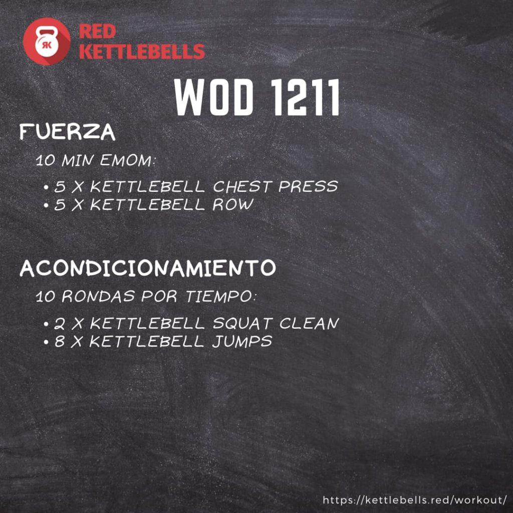 pesas rusas rutinas kettlebells workout crossfit wod 1211