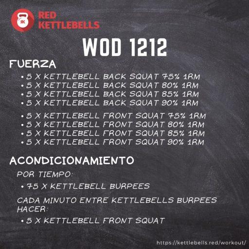 pesas rusas rutinas kettlebells workout crossfit wod 1212