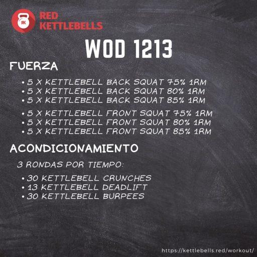pesas rusas rutinas kettlebells workout crossfit wod 1213