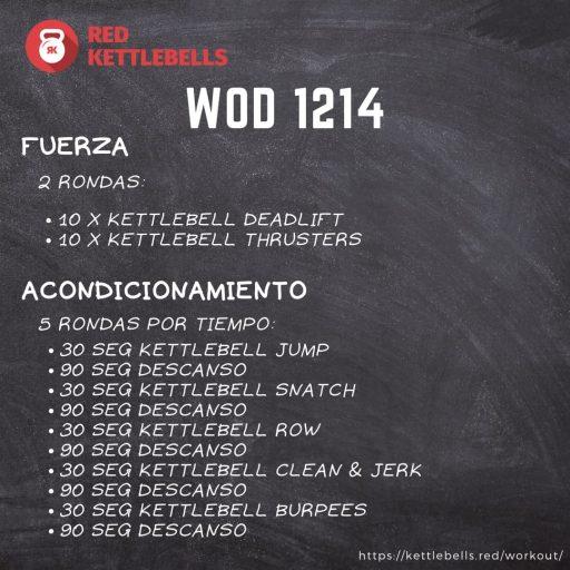 pesas rusas rutinas kettlebells workout crossfit wod 1214