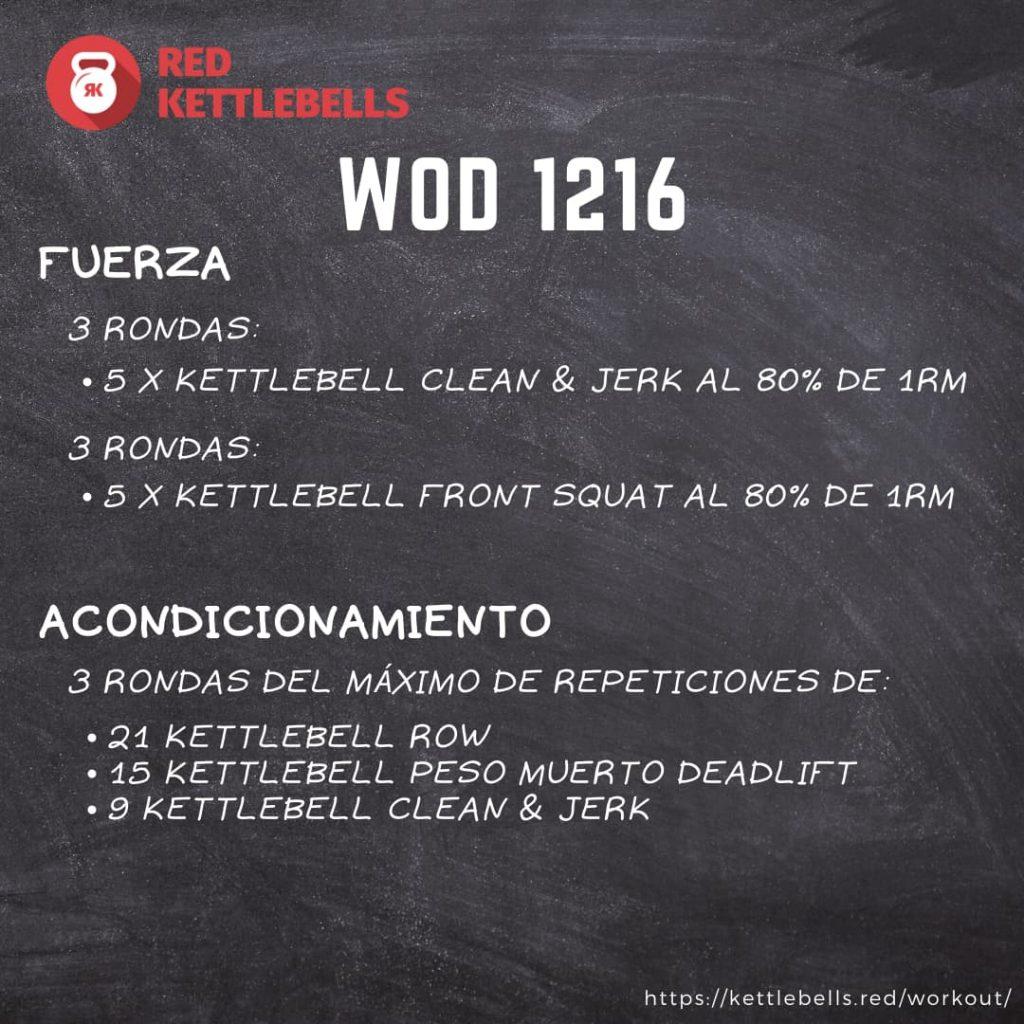 pesas rusas rutinas kettlebells workout crossfit wod 1216