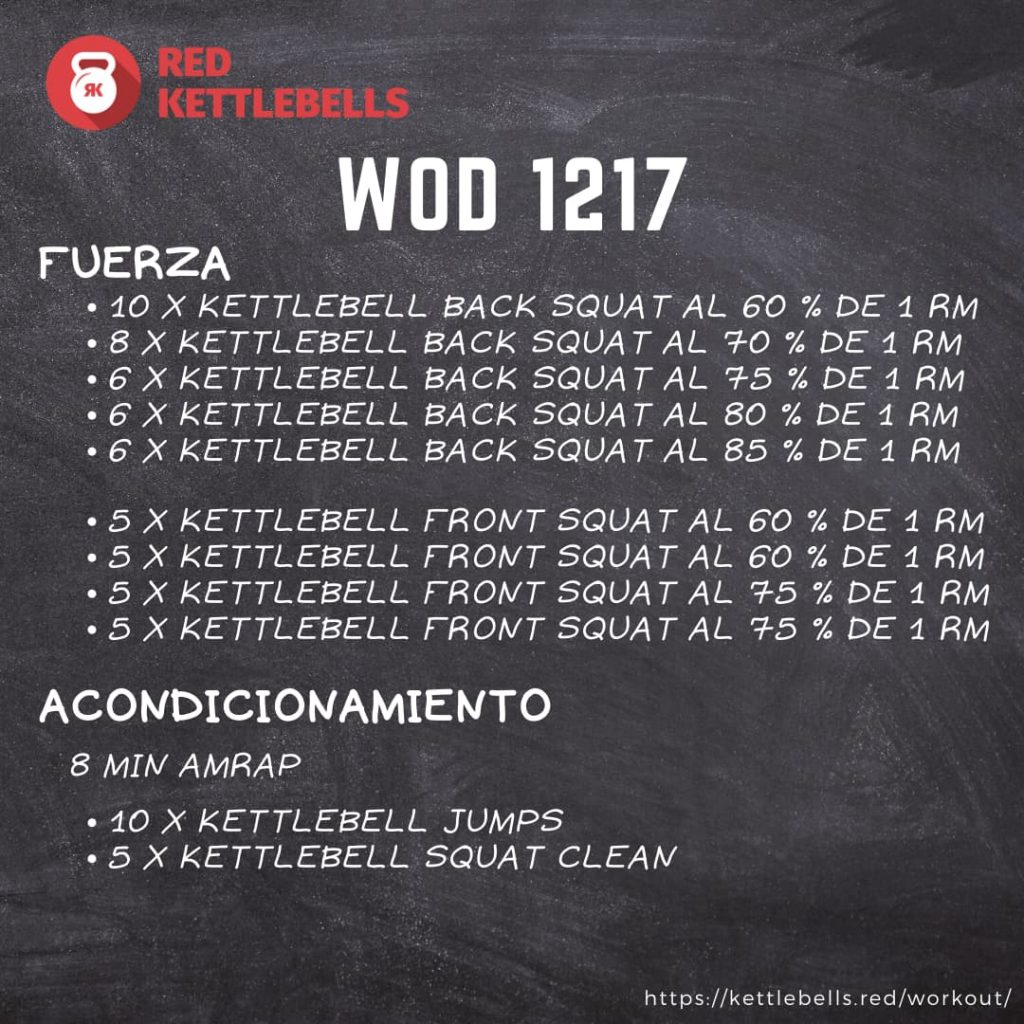 pesas rusas rutinas kettlebells workout crossfit wod 1217