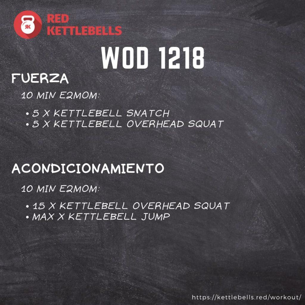 pesas rusas rutinas kettlebells workout crossfit wod 1218
