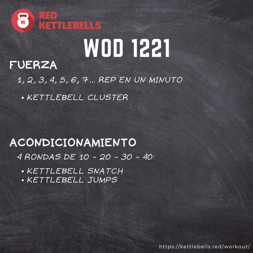 pesas rusas rutinas kettlebells workout crossfit wod 1221