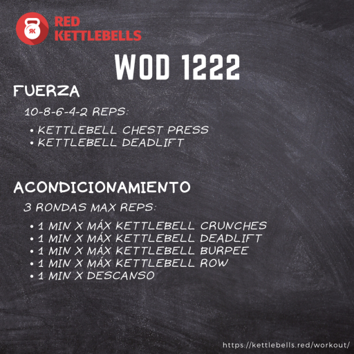 pesas rusas rutinas kettlebells workout crossfit wod 1222