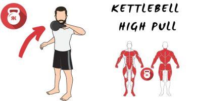 kettlebells pesas rusas high pull